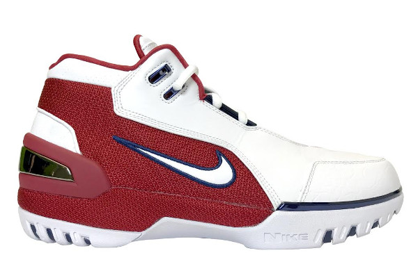 Name:NIKE AIR ZOOM GENERATION RETRO Color:White/Varsity Crimson-Midnight  Navy-White Style:941911-100. Release Date:01/25/2017. Price:$175. Exclusive: Limited