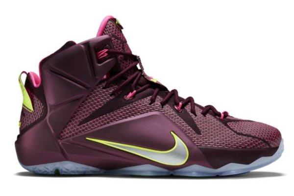 lebron shoes purple