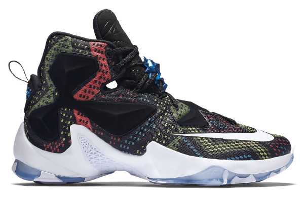 outlet store eb3ba ecee8 Name NIKE LEBRON XIII Color Multi-color White-Black Style 828377-910.  Release Date 01 18 2016. Price  200. Exclusive GR  Detailed Photos