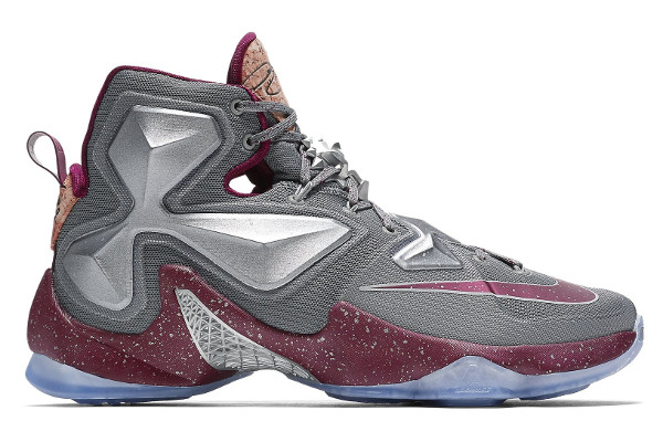 timeless design 30b8a 1b856 Name NIKE LEBRON XIII Color Wolf Grey Team Red-Metallic Silver  Style 823301-060. Release Date 11 27 2015. Price  200. Exclusive Limited GR   Detailed Photos