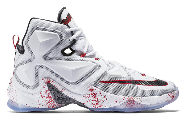 c22d66241543 Name NIKE LEBRON XIII Color White Black-University Red Style 807219-106.  Release Date 11 13 2015. Price  200. Exclusive GR  Detailed Photos