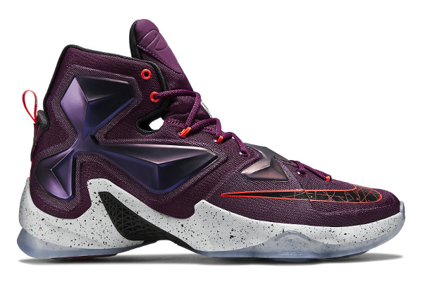 uk availability 4653d 15208 Name NIKE LEBRON XIII Color Mulberry Black-Pure Platinum-Vivid Purple  Style 807219-500. Release Date 10 10 2015. Price  200. Exclusive GR   Detailed Photos