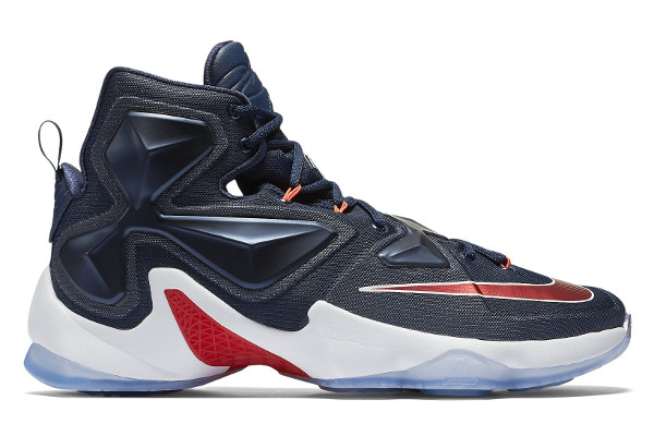 be460d3c4dc4 Name NIKE LEBRON XIII Color Midnight Navy University Red-White  Style 807219-461. Release Date 01 13 2016. Price  200. Exclusive GR   Detailed Photos