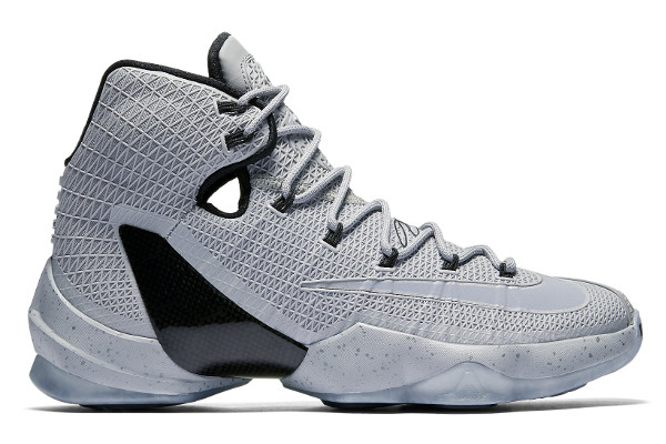 Name:NIKE LEBRON XIII ELITE LIMITED Color:Wolf Grey/Black Style:864942-001. Release Date:06/08/2016. Price:$200. Exclusive:GR [Detailed Photos]