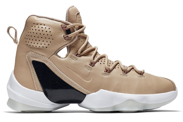 Name:NIKE LEBRON XIII ELITE EXT Color:Linen/Black-Multi-Color  Style:876806-299. Release Date:09/06/2016. Price:$200. Exclusive:GR  [Detailed Photos]
