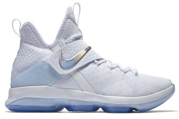 purchase cheap 2f051 4dcb5 Name NIKE LEBRON XIV Color White Multi-Color-Ice Blue Style 860631-900.  Release Date 03 24 2017. Price  175. Exclusive GR  Detailed Photos