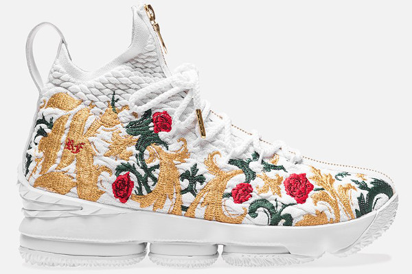 7e992e03a7b Name NIKE LEBRON XV PERF Color White White-Multi-Color Style AJ3936-100.  Release Date 02 17 2018. Price  255. Exclusive Limited  Detailed Photos