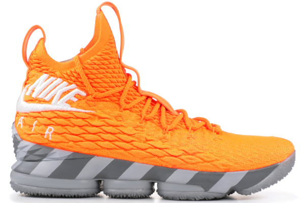924f36280e65 Name NIKE LEBRON XV KSA Color Total Orange White-Mine Grey  Style AR5125-800. Release Date 03 15 2018. Price  200. Exclusive LeBron  Watch  Detailed Photos