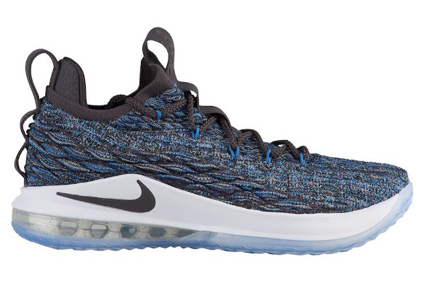 c21a27bcdc016c Name NIKE LEBRON XV LOW Color Signal Blue Thunder Grey-Black Style AO1755-400.  Release Date 06 30 2018. Price  150. Exclusive GR  Detailed Photos
