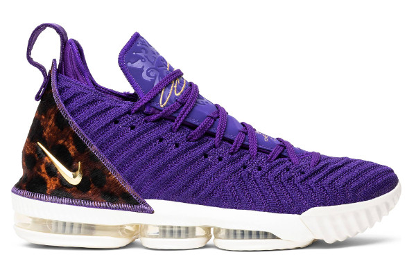 373546b29c5 Name NIKE LEBRON XVI Color Court Purple Metallic Gold Style AO2588-500.  Release Date 10 20 2018. Price  185. Exclusive Quickstrike
