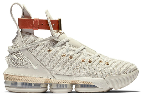 new style 7e9ee fdbeb Name WMNS NIKE LEBRON XVI Color Sail Light Bone-White Style BQ6583-100.  Release Date 09 07 2018. Price  250. Exclusive Limited  Detailed Photos
