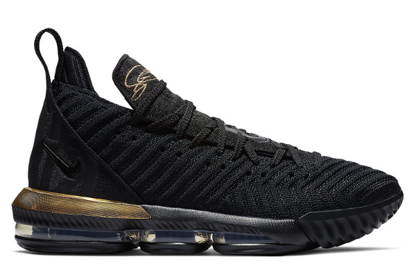 cheap for discount 73d9d 066d1 Name NIKE LEBRON XVI Color Black Metallic Gold-Black Style BQ5970-007.  Release Date 12 15 2018. Price  185. Exclusive GR  Detailed Photos