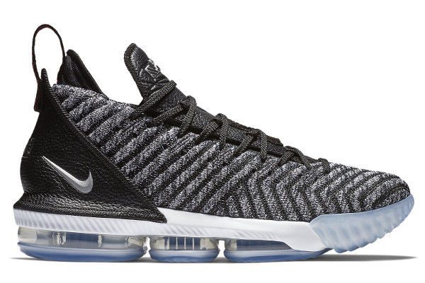 "9ec562da28ca LeBron 16 ""Strive For Greatness"". Name NIKE LEBRON XVI Color Black Metallic  Silver-White"