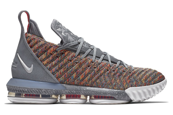 603ba100fd3 Name NIKE LEBRON XVI Color Multi-Color Metallic Silver-Cool Grey Style BQ5969-900.  Release Date 10 27 2018. Price  185. Exclusive GR  Detailed Photos