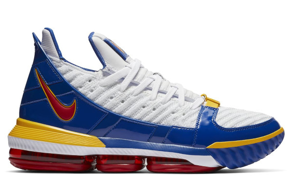 c9401696c7ef Name NIKE LEBRON XVI SB Color White Varsity Red-Varsity Royal  Style CD2451-100. Release Date 12 26 2018. Price  200. Exclusive LeBron  Watch