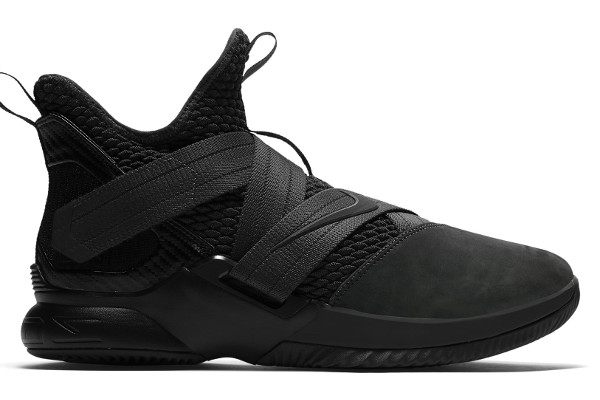 1d5faf58609 Name LEBRON SOLDIER 12 SFG Color Anthracite Anthracite-Black Style AO4054-002.  Release Date 04 12 2018. Price  130. Exclusive GR  Detailed Photos  Dropped  ...