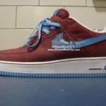 Nike Air Force 1 LeBron sample