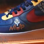 """LeBron Presented With Custom """"MVP"""" Nike Air Force One"""