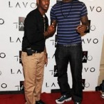 King's Feet: LeBron Chilling with CP3. Wearing Grape Air Max 95's