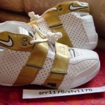 Zoom LeBron 20-5-5 White/Gold PE
