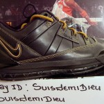 Unreleased Nike Zoom LeBron III Low Black-Gold Sample