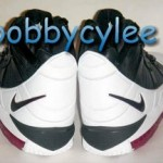 Nike Zoom LeBron III White, Black and Red sample