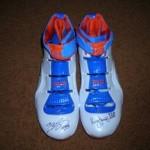 James' Nike Zoom LeBron IV Hardwood Classic PE