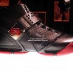 Nike Zoom LeBron V Black/Crimson showcase