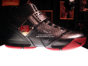 5cda98a1 317253-001 Black and Crimson: 317253-171 White and Gold: From LeBron 5