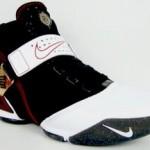 Nike Zoom LeBron V Black, White and Red Showcase