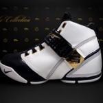 New Nike Zoom LeBron V White and Navy wallpaper