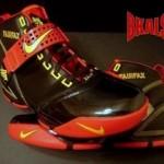 A closer look at the FAIRFAX Nike Zoom LeBron V
