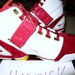Nike Zoom LeBron V Alternate Home Player Exclusive