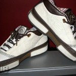 Zoom LeBron Low ST Brown and Bone Sample Colorway
