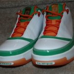 Zoom LeBron Low ST white/orange sample