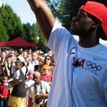 "LeBron James ""Olympic Tour"" at Nike World Headquarters"