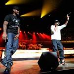 LeBron Rocking Black ZLVI During Concert for Obama with Jay-Z