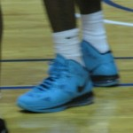 "LBJ Rocking ""South Beach"" 8 P.S. in Exhibition Game in Philly"
