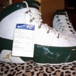 LeBron James' Air Jordan IX SVSM PE