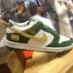 LeBron's non-signature shoes: Nike Dunk