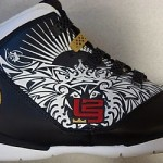 LeBron Soldier II QS 7/8 Akron 8/8 USA Kids Only