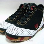 Zoom Soldier II Black, White and Red Camo Sole Sample