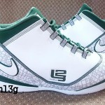 Nike Zoom LeBron Soldier II TB White Green Sales Sample
