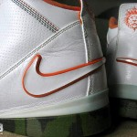 Zoom Soldier II White Orange Camo Unreleased Sample
