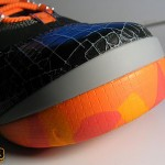 Zoom LeBron Soldier II Black Orange Actual Photos