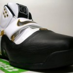 LeBron Soldier White, Black and Gold Ultimate Showcase