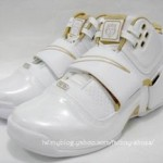 Zoom LeBron Soldier White/Gold showcase
