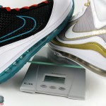 Nike Air Max LeBron VII – Flywire vs. NFW – Weight Comparison