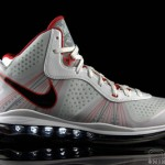 The Showcase: Nike LeBron 8 V/2 White/Black-Sport Red