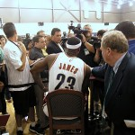 Cleveland Cavaliers Media Day – LeBron James Without the ZLVI
